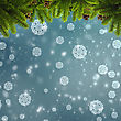 Abstract Winter And Xmas Backgrounds For Your Design stock photography