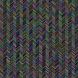 Abstract Zig Zag Pattern. Colorful Line Background