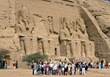 Egypt Abu Simbel stock photo
