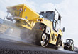 industrial truck industry paving stock photo