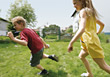 child girls boys active kids people stock image