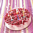 cake birthday candles celebration dessert stock photography