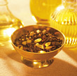 fragrance aromatherapy wellness yellow scented potpourri stock photography