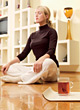 cup relax leisure health tea people stock image