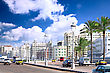 Alexandria City , Urban View, Egypt stock photo