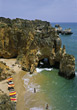 Algarve, Alvor, Portugal stock image