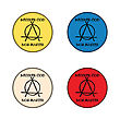 Anarchy Concept Buttons