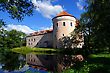 Ancient Castle In The East Of Estonia. 15 Century