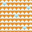 Animal Print. Seamless Pattern With Cute Fox Faces. Good Idea For Textile, Wrapping, Wallpaper Or Cloth Design stock vector