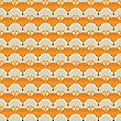 Animal Print. Seamless Pattern With Cute Fox Faces. Good Idea For Textile, Wrapping, Wallpaper Or Cloth Design stock illustration