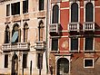 Apartments, Venice, Italy stock photography