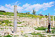 Settle Apollo Temple And Ruins At Amathus, One Of The Most Ancient Royal Cities Of Cyprus, On The East Side Of Limassol.Its Age Is Almost 2000 Years stock photography