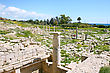 Apollo Temple And Ruins At Amathus, One Of The Most Ancient Royal Cities Of Cyprus, On The East Side Of Limassol.Its Age Is Almost 2000 Years stock photography