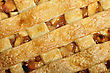 Apple Pie , Close Up For Background