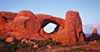 Arches National Park, Utah, USA stock image