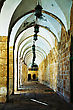 Arches Of A Passageway At The Temple Mount In Jerusalem, Israel stock photography