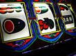 casino slot machines gambling stock image