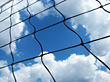 netting nets stock image
