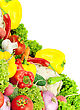 Assorted Fresh Vegetables stock photo