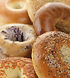 Assortment Of Bagels stock photography