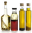 Cookingoil Assortment Of Cooking Oil With Spices stock photography