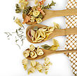 Assortment Of Italian Gourmet Pasta stock photo