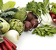 Assortment Of Raw Fresh Vegetables stock photography