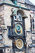 Zodiac Astronomical Clock. Prague. Czech Republic. City. Europe stock image