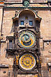Astronomical Clock. Prague. Czech Republic stock image