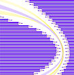 Asymmetric Semicircular Background Of Purple Pencils
