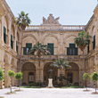 Auberge de Castille, Malta stock photo