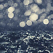 Autumnal Rain, Abstract Environmental Backgrounds For Your Design stock photography