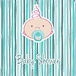 Baby Boy Arrival Announcement Retro Cards
