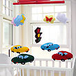 Baby Mobile - Kids Toys stock image