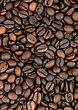 Background Of Aromatic Roasted Brown Coffee Bean stock image