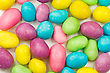 Background Of Colorful Candy Coated Chocolate Sweets stock photography