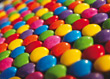 Background of Colorful Chocolate Candy stock image