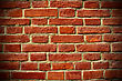 Background Of Red Bricks, Vignetting stock image