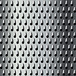Background Texture For A Cheese Grater, Seamless Pattern stock illustration
