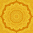 Background With Abstract Radial Pattern