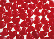 Background with Red Cinnamon Candy Hearts stock photo