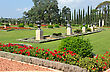 Bahai Gardens Near The City Of Acre, Israel stock photography