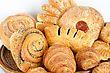Bakery Foodstuffs Set stock image