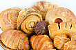 Bakery Foodstuffs Set stock photography