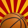 Basketball Icon Design, Sports Background