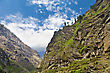 Beautiful Landscape In Himalayas, Annapurna Area, Nepal stock image