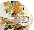 Beautiful Vintage Coffee Or Tea Cup stock photo