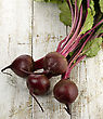 Beetroots On Wooden Background ,Top View stock image