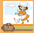 Best Cook Certificate With Funny Cook Who Runs A Chicken