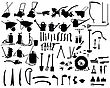 Biggest Collection Of Vector Garden Instruments Silhouettes